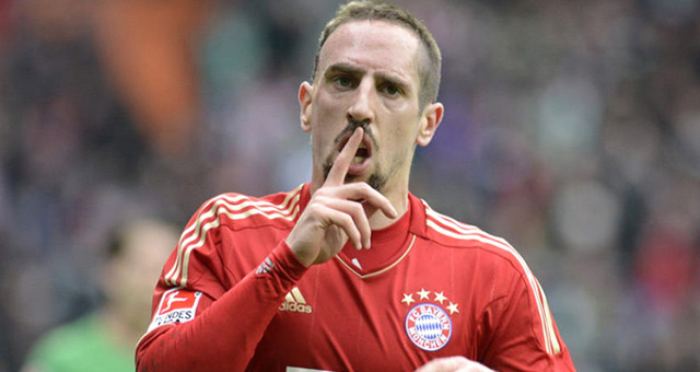 Bayern Münih'ten ayrılacağı konuşulan Ribery, sürpriz yaptı!