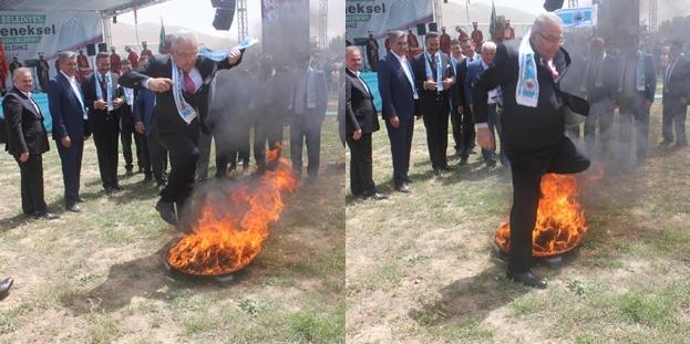 Baykal'ın hıdırellez ateşiyle imtihanı