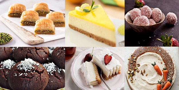 Bayramda yapılacak tatlı çeşitleri | Pasta, şerbetli, sütlü, hafif ve kolay tatlılar
