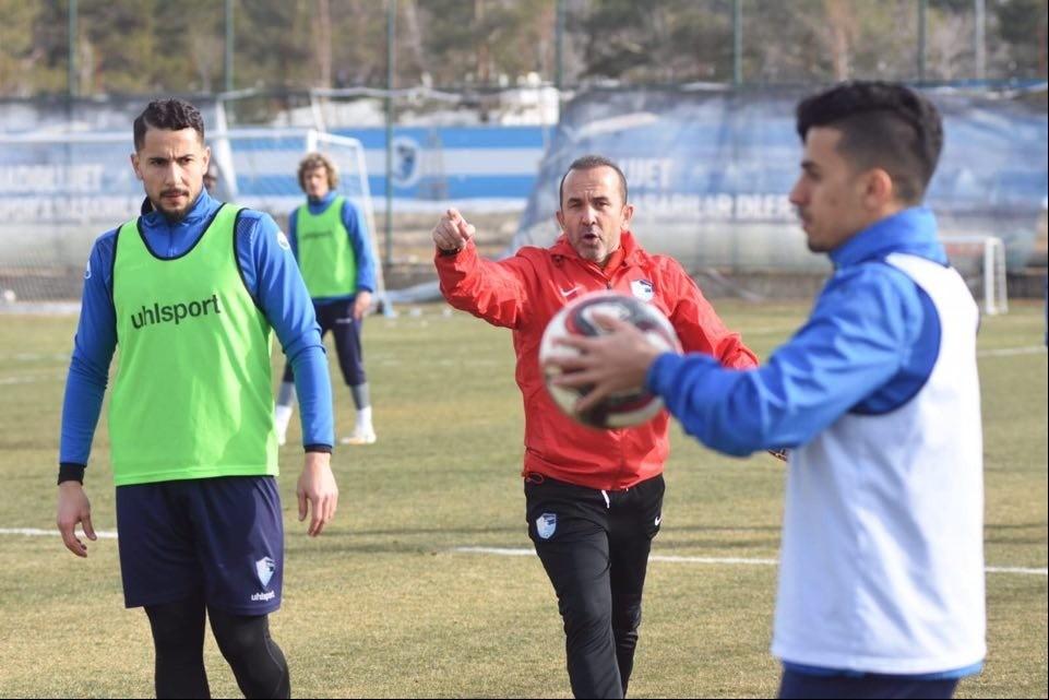 BB Erzurumspor Akhisarspor maçı hazırlıklarını sürdürdü