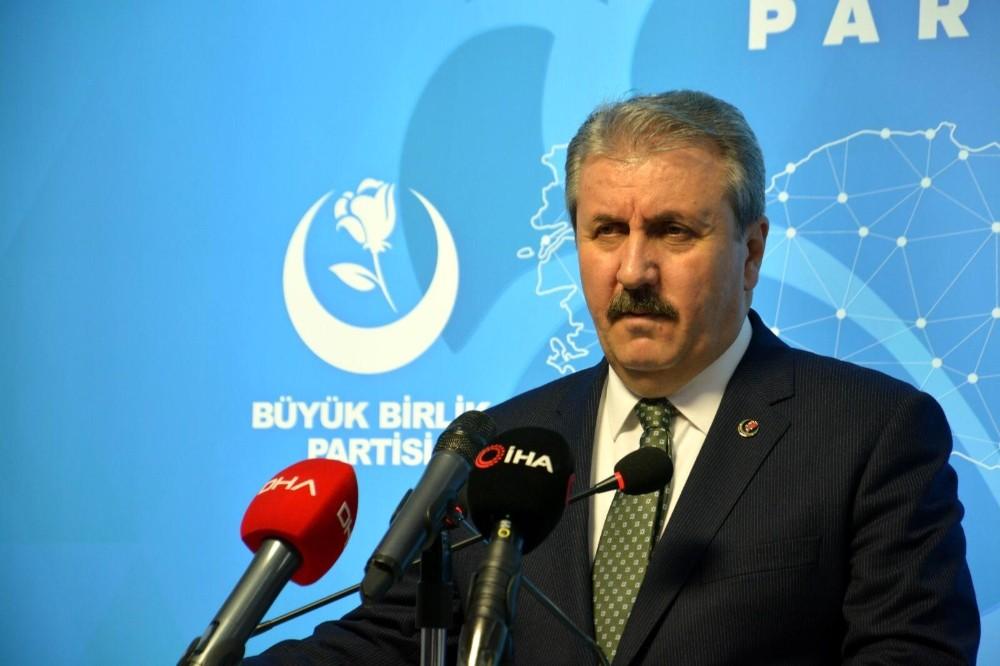 """BBP Genel Başkanı Destici: """"Emperyalist güçler Türkiye'yi bölgede istemiyor"""""""
