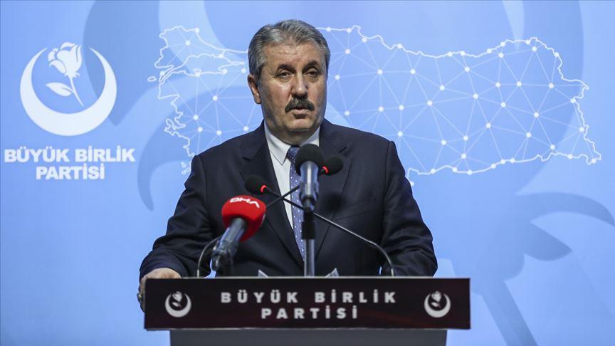 BBP Genel Başkanı Destici'den koronavirüs açıklaması