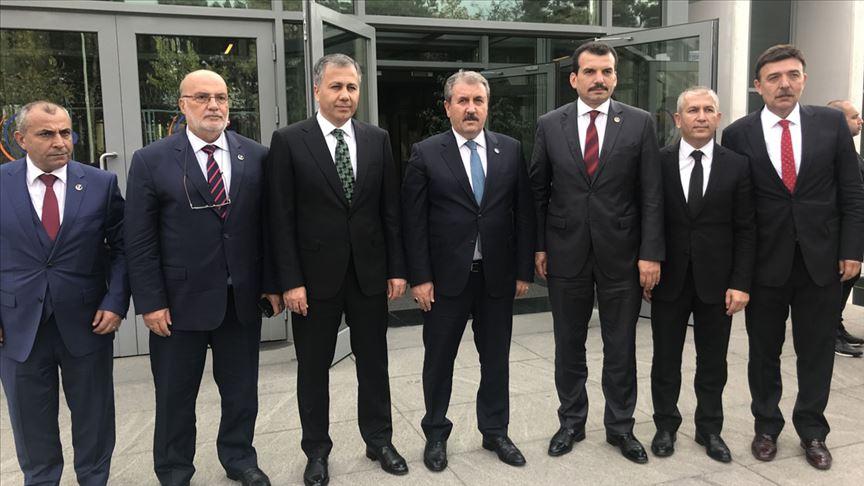 BBP Genel Başkanı Mustafa Destici: PKK, PYD, YPG bunları bir günde ezer geçeriz
