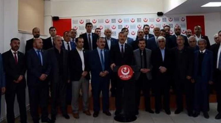 BBP il başkanlarından Destici'nin 'evet' kararına destek