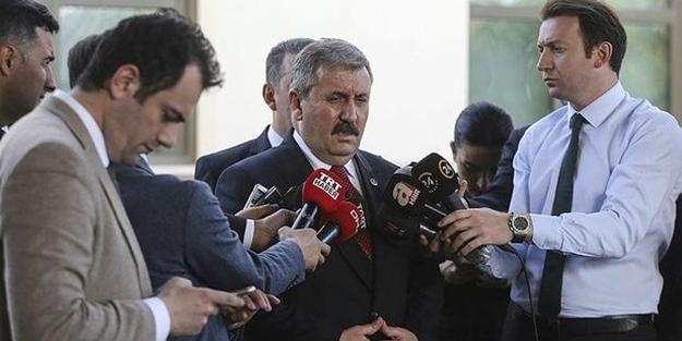 BBP lideri Destici'den 'Binali Yıldırım' açıklaması