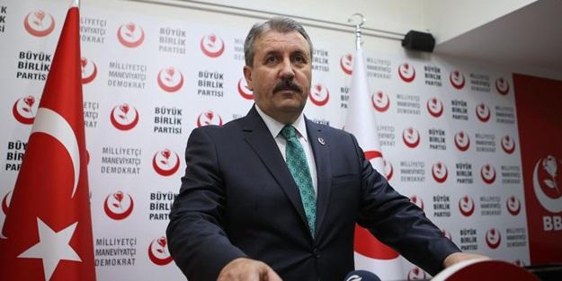 BBP Lideri Destici'den kritik Ayasofya çıkışı