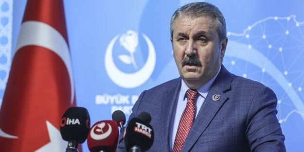 BBP Lideri Mustafa Destici: Ortada Kürt sorunu yok!
