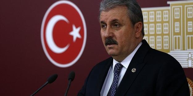 BBP Lideri Mustafa Destici'den 'darbe' ve 'silahlanma' açıklaması