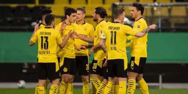 B.Dortmund kupada finale çıktı