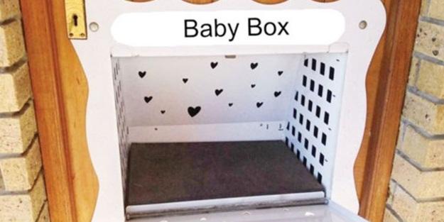 Bebekler bu kutulara terk edilecek