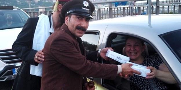 'Bekçi Bekir' 20 bin iftariyelik dağıttı
