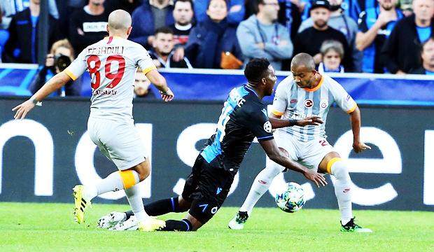 Belçika medyası: Brugge'ün penaltısını verilmedi!