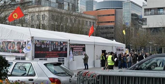 Belçika, Terör örgütüne çadır kurma izni verdi