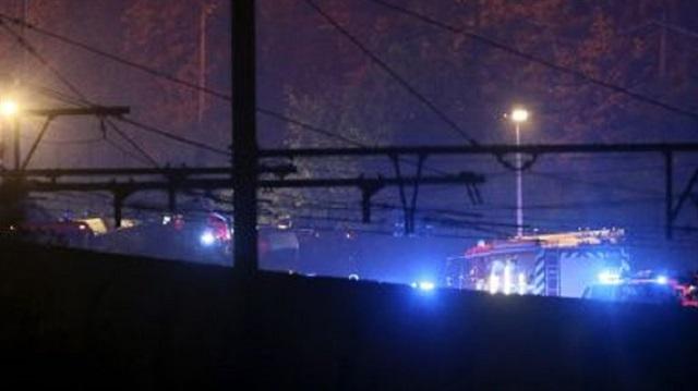Belçika'nın Lüttich kentinde iki tren çarpıştı: Ölü ve yaralılar var
