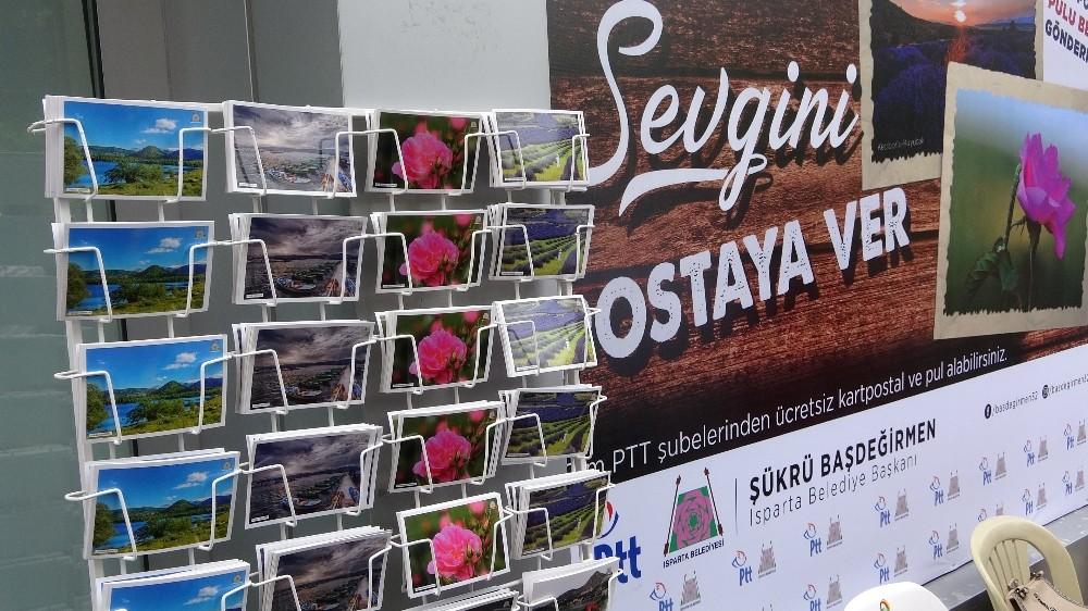 Belediye başkanından Cumhurbaşkanı Erdoğan'a bayram kartpostalı