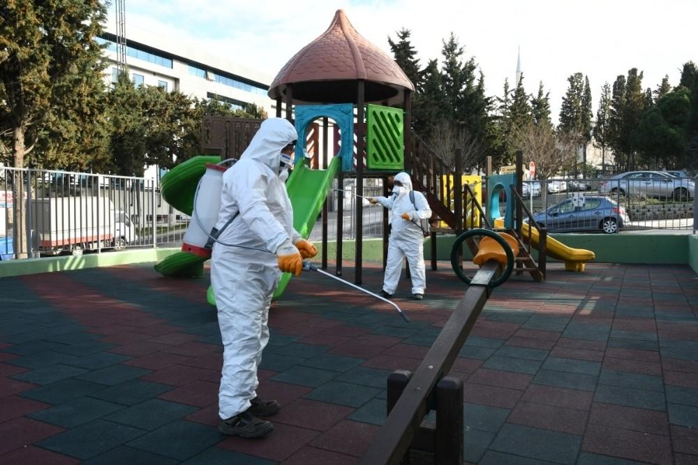 Belediyeden korona virüs mücadelesinde sahada çalışan personele bin lira ikramiye