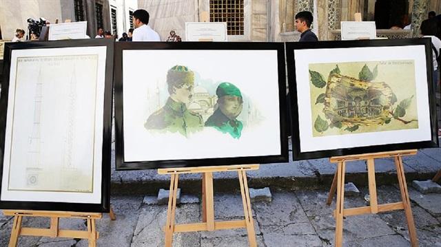'Belgeler ve Resimlerle Ayasofya Sergisi' açıldı