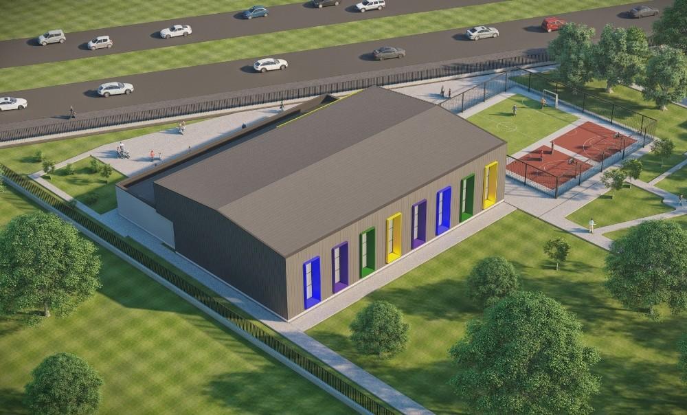 Besi Özderici Engelsiz Yaşam Merkezi'ne Spor Salonu Yapılacak