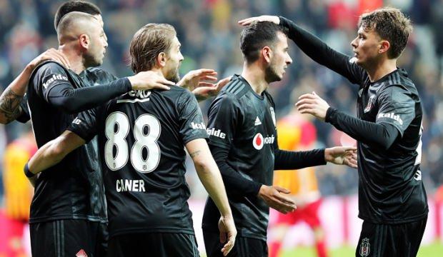 Beşiktaş - 24 Erzincanspor maçında ilk 11'ler