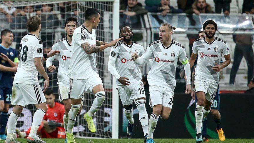 Beşiktaş Avrupa Ligi'nde Wolverhampton'la karşılaşacak