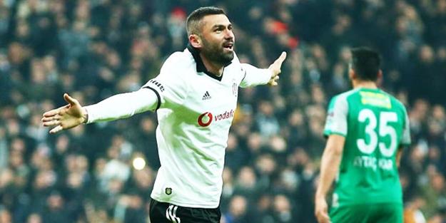 Beşiktaş Burak Yılmaz ile güldü!