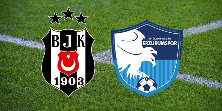 Beşiktaş Erzurumspor kupa maçı ne zaman saat kaçta hangi kanalda?
