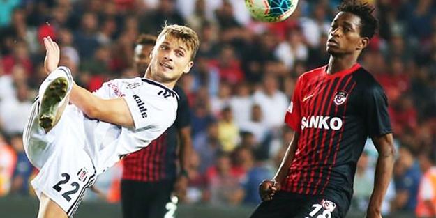 Beşiktaş Gaziantep maçı ilk 11'leri belli oldu! Beşiktaş Gaziantep maçı ne zaman başlayacak?