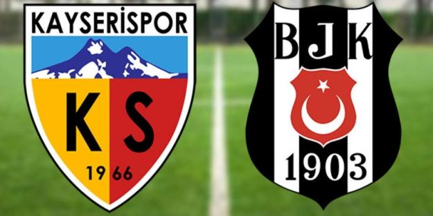 Beşiktaş- Kayserispor maçı kaç kaç bitti?