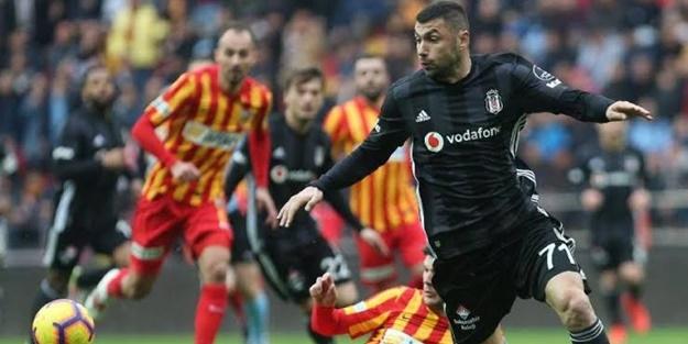 Beşiktaş Kayserispor maçı muhtemel 11'leri
