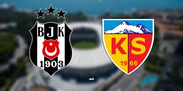 Beşiktaş Kayserispor maçı ne zaman saat kaçta hangi kanalda?