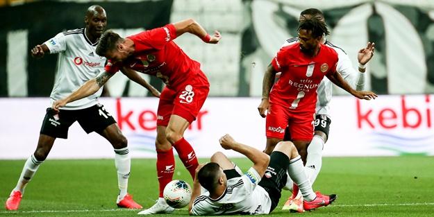 Beşiktaş sahasında Antalyaspor'a yenildi