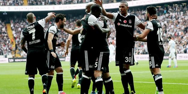 Beşiktaş şampiyonluğa koşuyor!