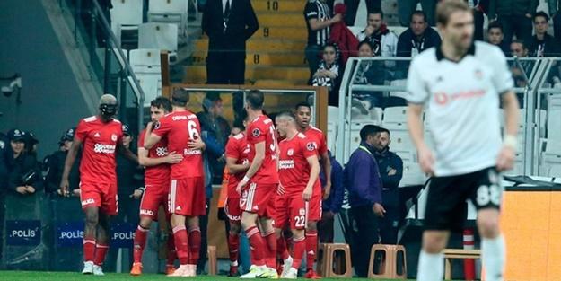 Beşiktaş Sivasspor maçı muhtemel 11'leri