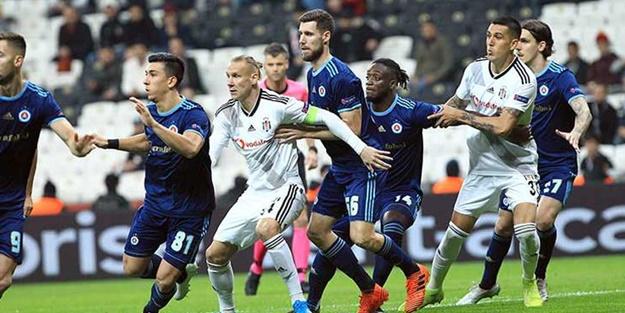 Beşiktaş Slovan Bratislava maçı kaç kaç bitti? Beşiktaş Slovan Bratislava maç sonucu