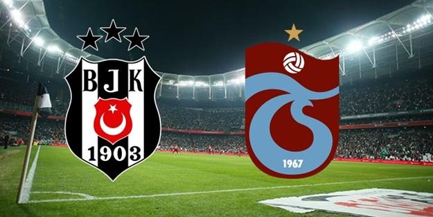 Beşiktaş Trabzonspor derbisi saat kaçta hangi kanalda yayınlanacak? (Muhtemel 11'ler)