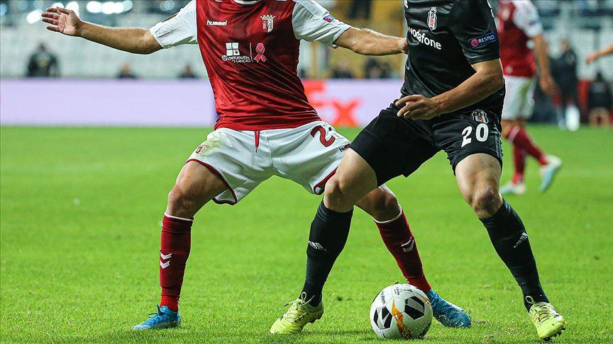 Beşiktaş UEFA Avrupa Ligi'nde deplasmanda Braga ile karşılaşacak