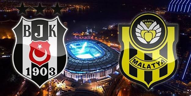 Beşiktaş Yeni Malatyaspor maçı muhtemel 11'leri