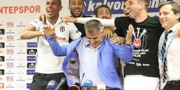 Beşiktaşlı oyunculardan Şenol Güneş'e sürpriz!