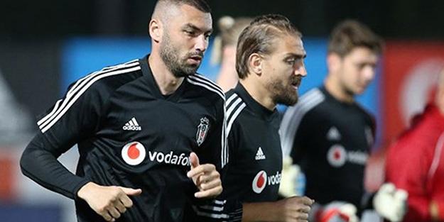 Beşiktaş'ta Burak Yılmaz, Tyler Boyd ve Caner Erkin koronavirüse yakalandı
