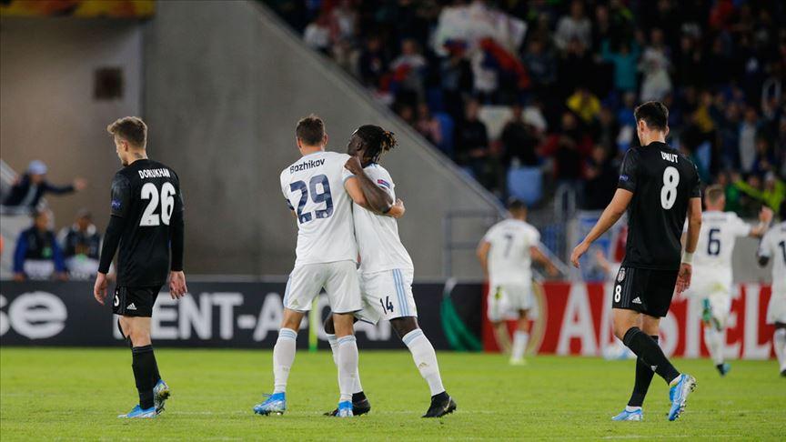 Beşiktaş'tan Avrupa Ligi'ne kötü başlangıç yaptı