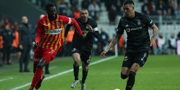 Beşiktaş'tan Kayserispor'a gol yağmuru!