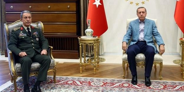 Beştepe'de kritik görüşme sona erdi