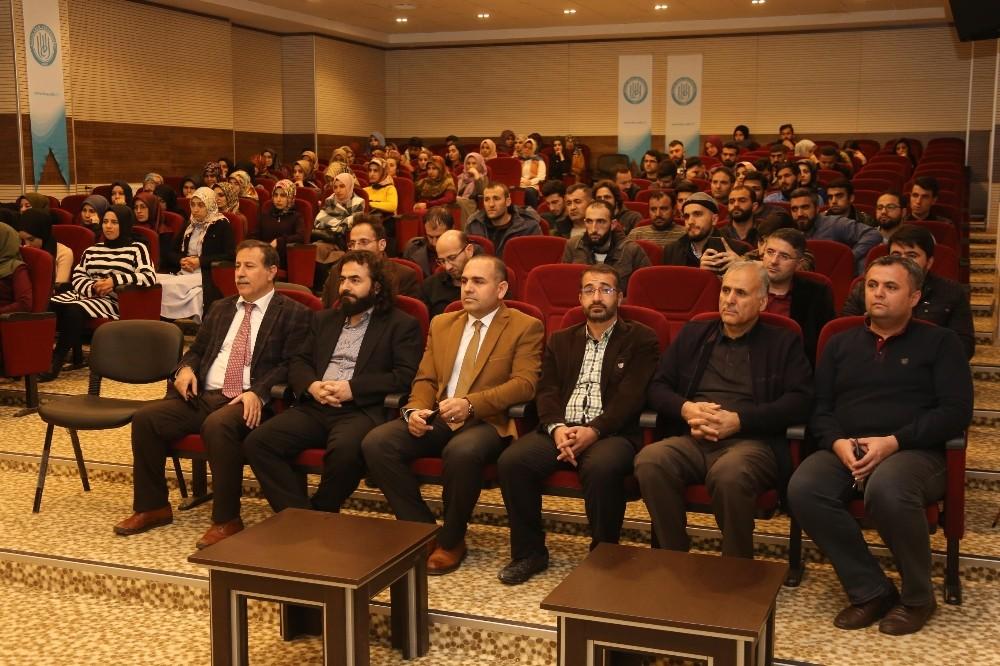 """BEÜ'de """"Evrim ve Kur'an'da Yaratılış"""" semineri"""