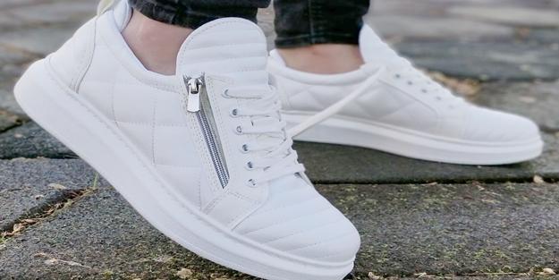 Beyaz ayakkabıların temizliği nasıl olur?