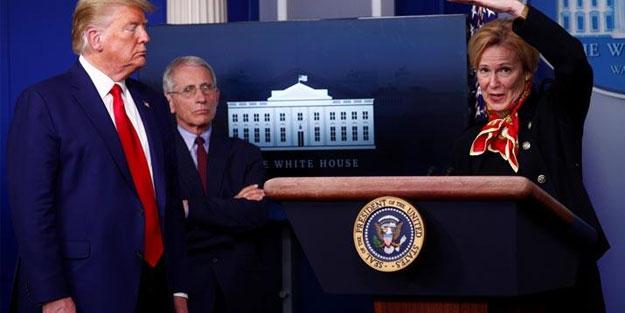 Beyaz Saray sağlık ekibinden dehşete düşüren koronavirüs açıklaması