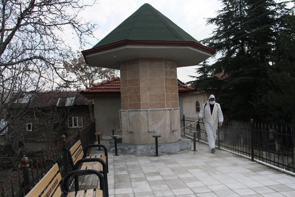 Beypazarı'nda camiler ibadete hazır