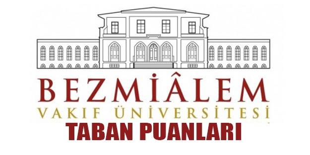 Bezm-i Alem Vakıf Üniversitesi taban puanları 2019