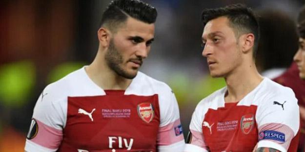 Bıçaklı saldırıya uğramışlardı! Mesut Özil ve Kolasinac için şaşırtan karar