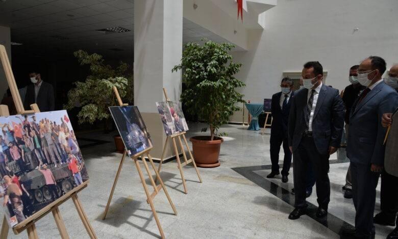 """Bilecik Şeyh Edebali Üniversitesinde """"Demokrasi ve Milli Birlik Günü Sergisi ve Konferansı"""""""