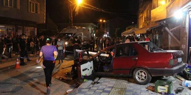 Bilecik'te korkunç kaza: Bir kişi öltdü 5 kişi yaralandı